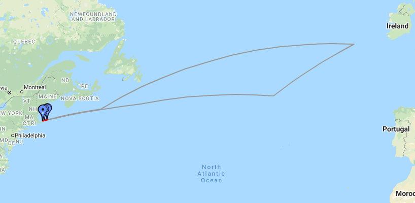 Brave Puffin 2020 route