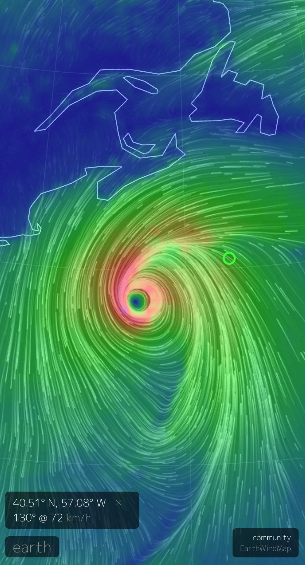 2020 September 22 hurricane Teddy