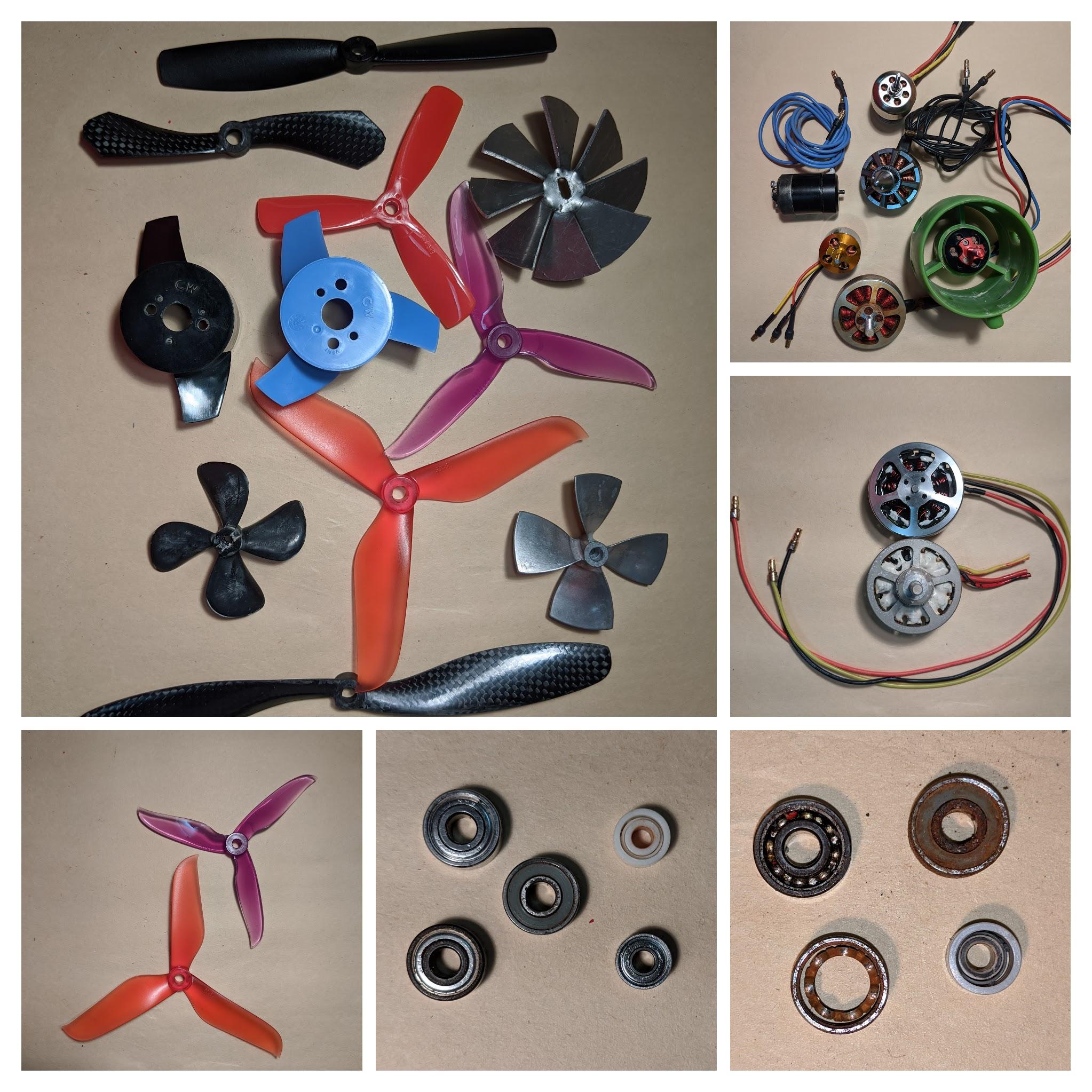 Propulsion components